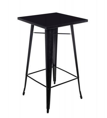 Masă LOBBI BLACK 66X66 cm