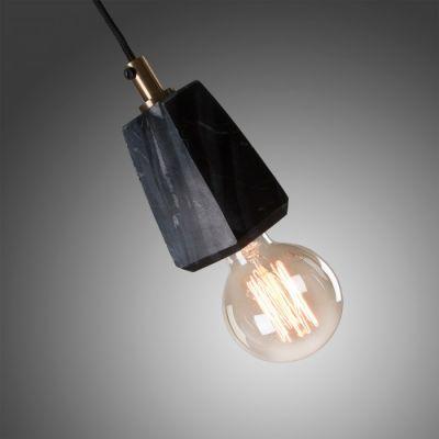BLUNT DIAMOND BLACK Lampă Suspendată
