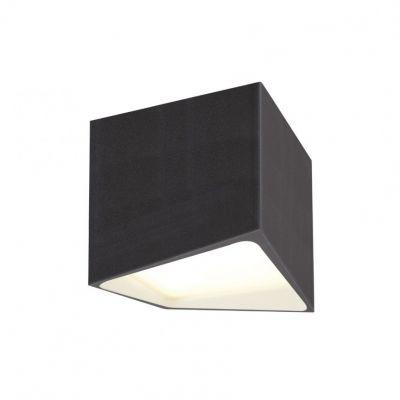 TENA ALB spot Aplica tavan IP44 10x10 cm led inclus