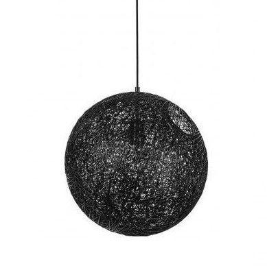 MOON BLACK Lampa suspendata 40 CM