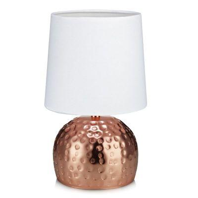 HAMMER COPPER/WHITE Lampă de masă
