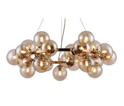 Lampă suspendată BOLLA ROUND GOLD