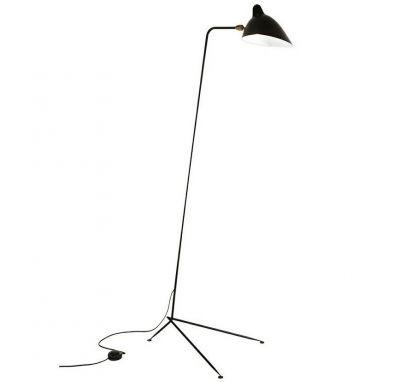 Lampă stativă RAVA SINGLE BLACK