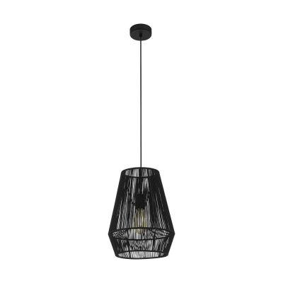 Lampă suspendată PALMONES BLACK 30 cm