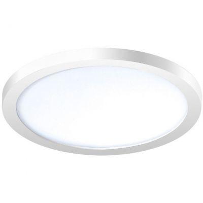 Lampa de tavan SLIM ROUND 15 ALB 4000K