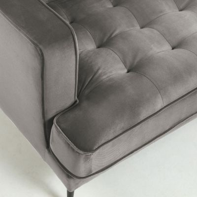 Canapea MARK VELVET Grey