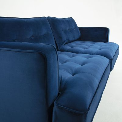 Canapea MARK VELVET Dark blue