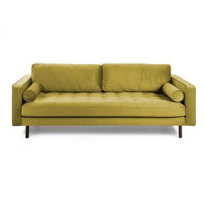 Canapea BOGARA VELVET Yellow