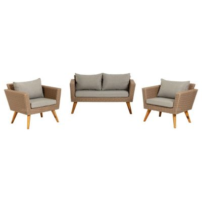 Set canapea și 2 fotolii UMI LIGHT