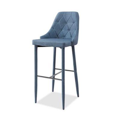 Scaun de bar 78cm PIXIE -Albastru inchis