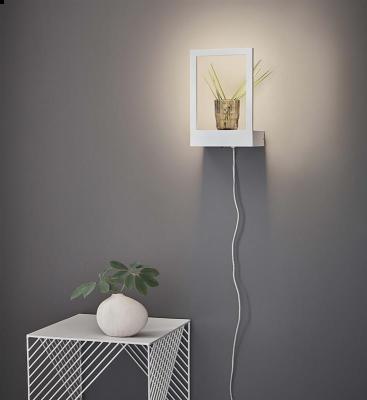 Lampă / Decor de perete CLEVIS WHITE