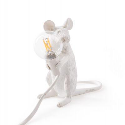 LAMPA DE BIROU MOUSE WHITE