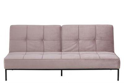 Canapea extensibilă CORONA VELVET ROSE