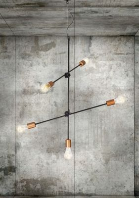 KIARA BLACK Lampă Suspendată