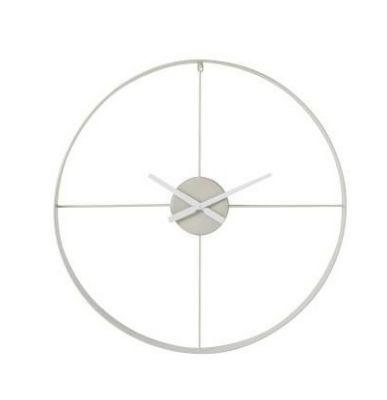 Ceas de perete GANA WHITE