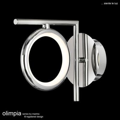 Lampă de perete OLIMPIA SILVER