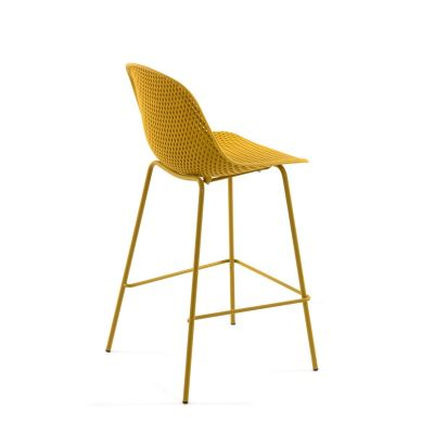 Scaun de bar UNIMA YELLOW 75 cm